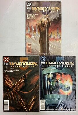 Babylon 5 In Valen's Name Parts 1, 2 & 3 Comic Book Series J Micheal Stracynski