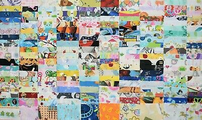 """50 x 5"""" charm squares patchwork and quilting fabric *all different*"""