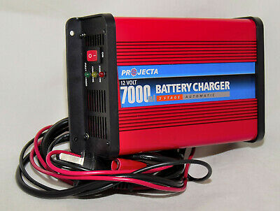 Projecta 7000 3 stage 7 amp 12v charger.
