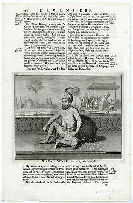 HUMAYUN-MUGHAL EMPEROR-AKBAR THE GREAT-INDIA-After VALENTIJN-VOC-1724