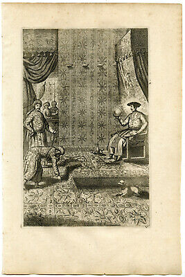 MUGHAL EMPIRE-KING-AKBAR I THE GREAT-INDIA-After KIRCHER-1667