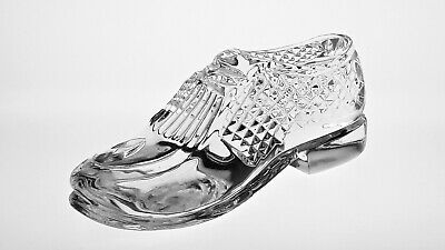 "cc570 LOVELY WATERFORD CRYSTAL 6"" GOLF SHOE - signed"