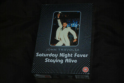 Saturday Night Fever & Staying Alive - OOP 2-Disc Box Set - John Grease Travolta