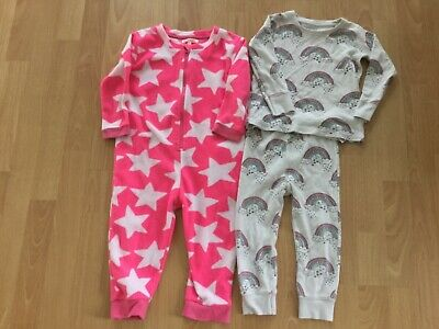 girls Bluezoo all in one and Next pyjamas age 1.5-2 years