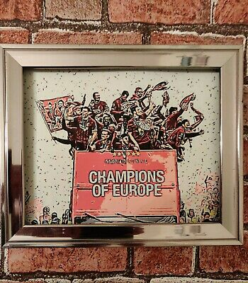 Liverpool FC Champions Of Europe Football Picture Poster Print