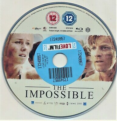 The Impossible Blu Ray
