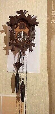 Wooden Cuckoo Clock  in good working order