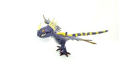 How To Train Your Dragon Stormfly Deadly Nadder Purple Light Up Figure Rare