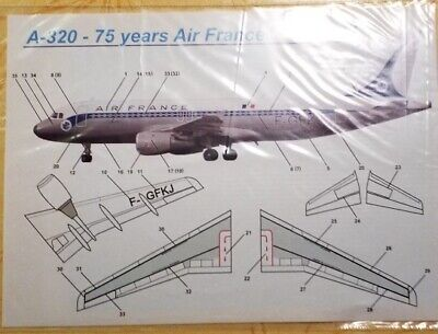 1:144 PAS-Decals #PD-14411 Airbus A-320 SWISS