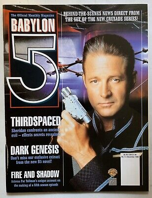 Babylon 5 The Official Monthly Magazine December 1998 Vol 2 No 5 Sheridan