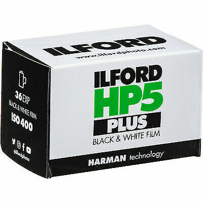 3 Rolls Ilford HP5 Plus Black & White Negative Film 35mm (ISO-400) 36 Exp.