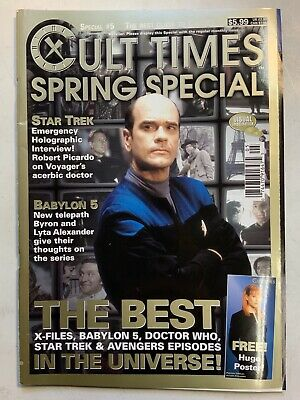 Cult Times The Best Of Cult TV 1998 Spring Special Issue #5 Babylon 5 Big Poster