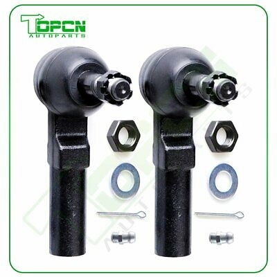 2 Pieces Outer Tie Rod Ends Set Fits Oldsmobile Pontiac Cadillac Buick Lucerne