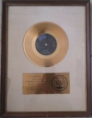 "PAUL McCARTNEY & WINGS ""MY LOVE"" RIAA GOLD RECORD AWARD TO DENNY LAINE"