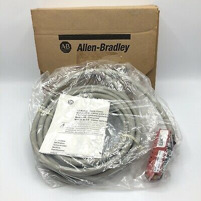 NEW ALLEN BRADLEY 1492-CABLE050RTBR  I/o Module Ready Cable Connector For 1746