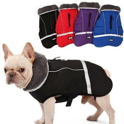 Small Medium Large Dog Coat Waterproof Warm Jackets Winter Clothes for Pet Puppy
