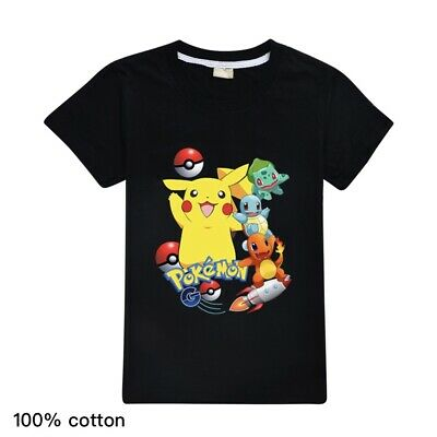 Pokemon Go Rocket Pikachu Squirtle Bulbasaur Charmander Kid's T Shirt  AU Shop