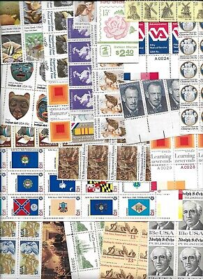 USA postage stamps $70 FACE value unused discount postage 13c & 15c denoms only