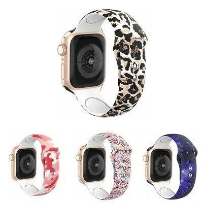 Silicone Strap Replacement Wristband For Apple Watch iWatch Band Series 4 3 2 1