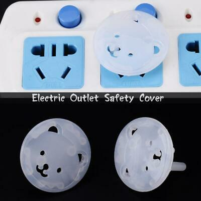 10PCS Safety Child Baby Proof Electric Outlet Socket Plastic Covers EU/US Plug