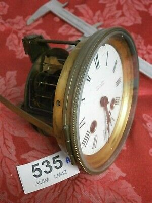 Clock MOVEMENT FRENCH R & Co Paris, Dial & Bezel inc bevelled glass parts