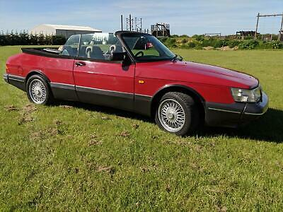 1989 Saab 900 2.0 Turbo 16v S Aero Convertible 155K Manual T5 Fuel injection