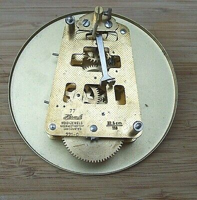 Franz Hermle Timepiece Clock Movement