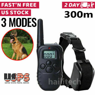 Dog Shock Training Collar With Remote Electric Trainer Small Large Waterproof