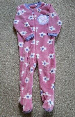 Peppa Pig Fleece All-in-One Age 2-3 Years Mothercare