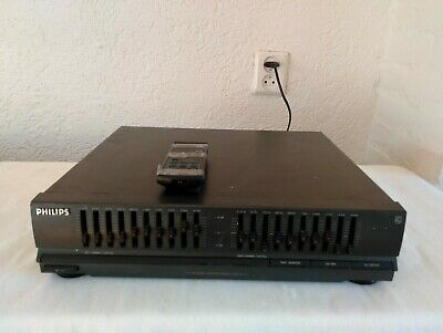 Philips 2×10 band graphic equalizer fv 311