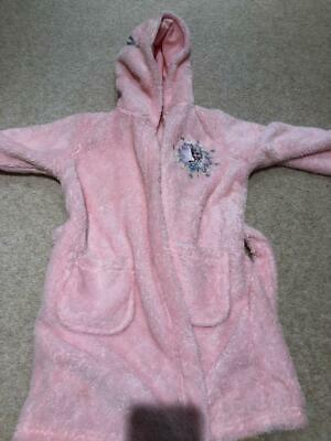 Girls Disney Frozen Dressing Gown M&S Age 2-3 Excellent condition