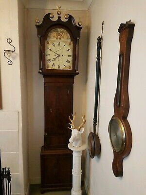 James McGregor Antique Grandfather Clock.