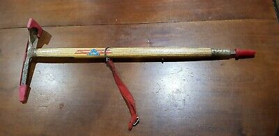 Vintage Stubai  Austrian Mountaineering Ice Pick 70Cm  With Covers