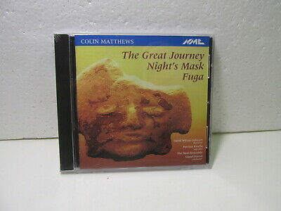 Colin Matthews The Great Journey Night's Masque Fuga cd9416