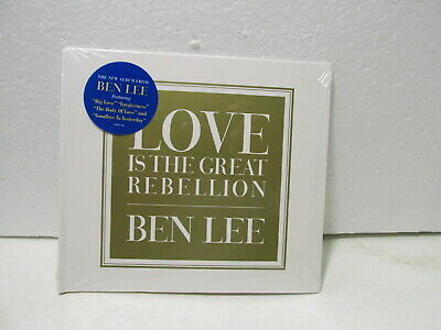 Ben Lee Love is the Great Rebellion 2015 cd9264
