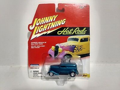 Johnny Lightning Chaud Barres 1933 Ford Livraison 1:64 Echelle Miniature mb597