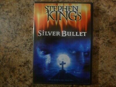 Silver Bullet - Stephen King-  Free Shipping (DVD, 2013)