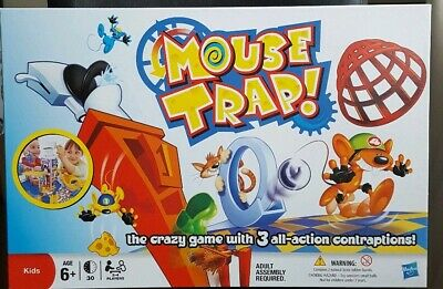 Mouse Trap Board Game By MB Games, Hasbro.