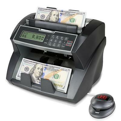 Pyle PRMC820 Automatic Bank Bill Counter, Digital Cash Money Counting Machine