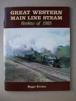 Great Western Main Line Steam. Review of 1985. GWR. Trains Railways Locomotives
