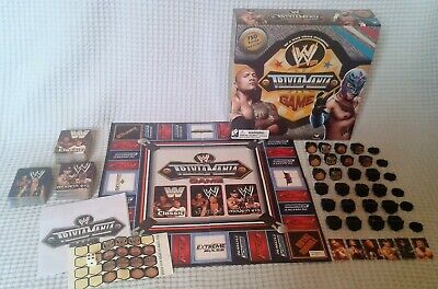 WWE Trivia Mania Board Game World Wrestling Entertainment Rare And Complete- HTF
