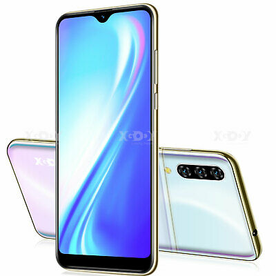 6.3 in Android 9.0 Unlocked Mobile Smart Phone Dual SIM Quad Core Phablet 16GB