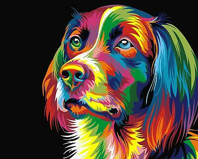 Paint By Numbers Kit - Adults - Dog - 20in x 16in