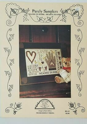 Homespun Elegance Hands To Work Hearts To God PS-19 Cross Stitch Pattern