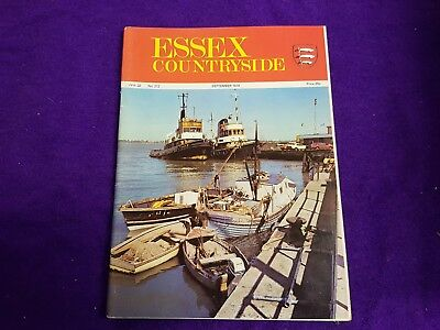 The Essex Countryside Magazine September 1974 Dunnmow Flitch Stour Advertisments