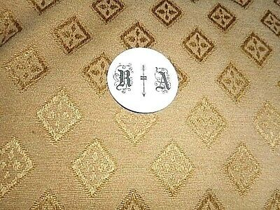 "Round Paper (Card) R A  Clock Pendulum Insert - 2 1/4"" - GLOSS WHITE - Spares"