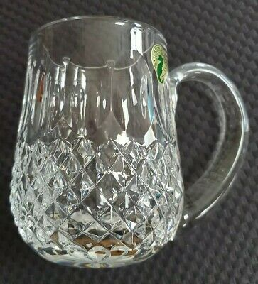 RARE Vintage Waterford Colleen 14oz. Tankard Mug Signed Ireland Label MINT BOXED