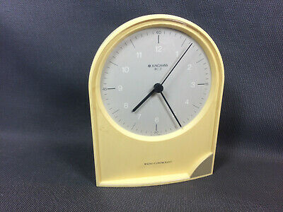 Antique Clock Radio Controlled Junghans RC2 Vintage in Pile Old Electronic Clock