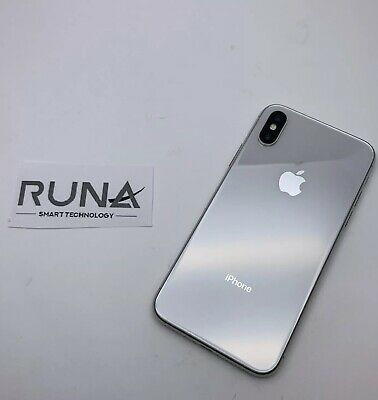 Apple iPhone X 64GB Unlocked Smartphone - Silver - Excellent Condition RRP£899