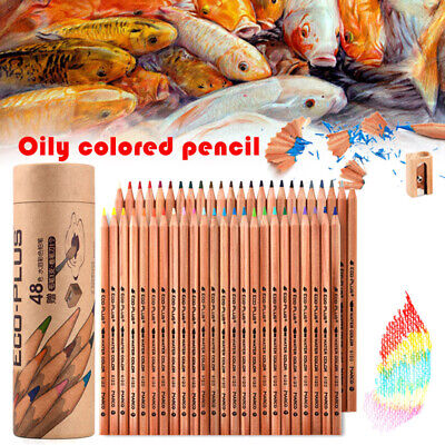24/36/48/72 Color Colouring Pencils Set Oil Based Color for Artist Field Drawing
